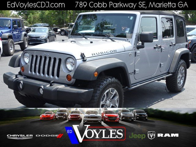 Pre Owned 2013 Jeep Wrangler Unlimited Rubicon