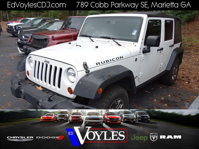 Certified Pre Owned 2013 Jeep Wrangler Unlimited Rubicon
