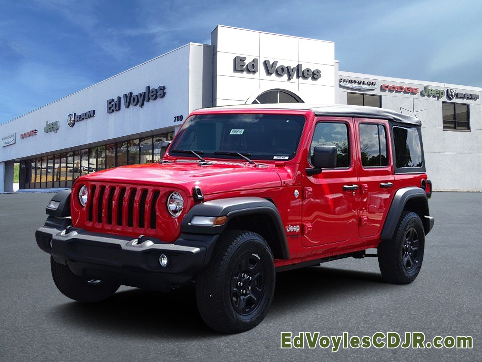 Jeep Wrangler Unlimited Sport >> New 2019 Jeep Wrangler Unlimited Sport 4x4