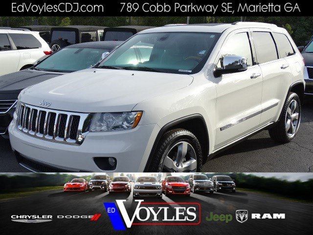 Pre Owned 2012 Jeep Grand Cherokee Overland