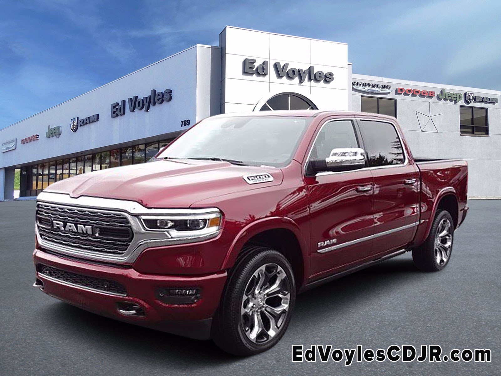 New 2020 Ram 1500 Limited Crew Cab In Marietta 500891 Ed Voyles