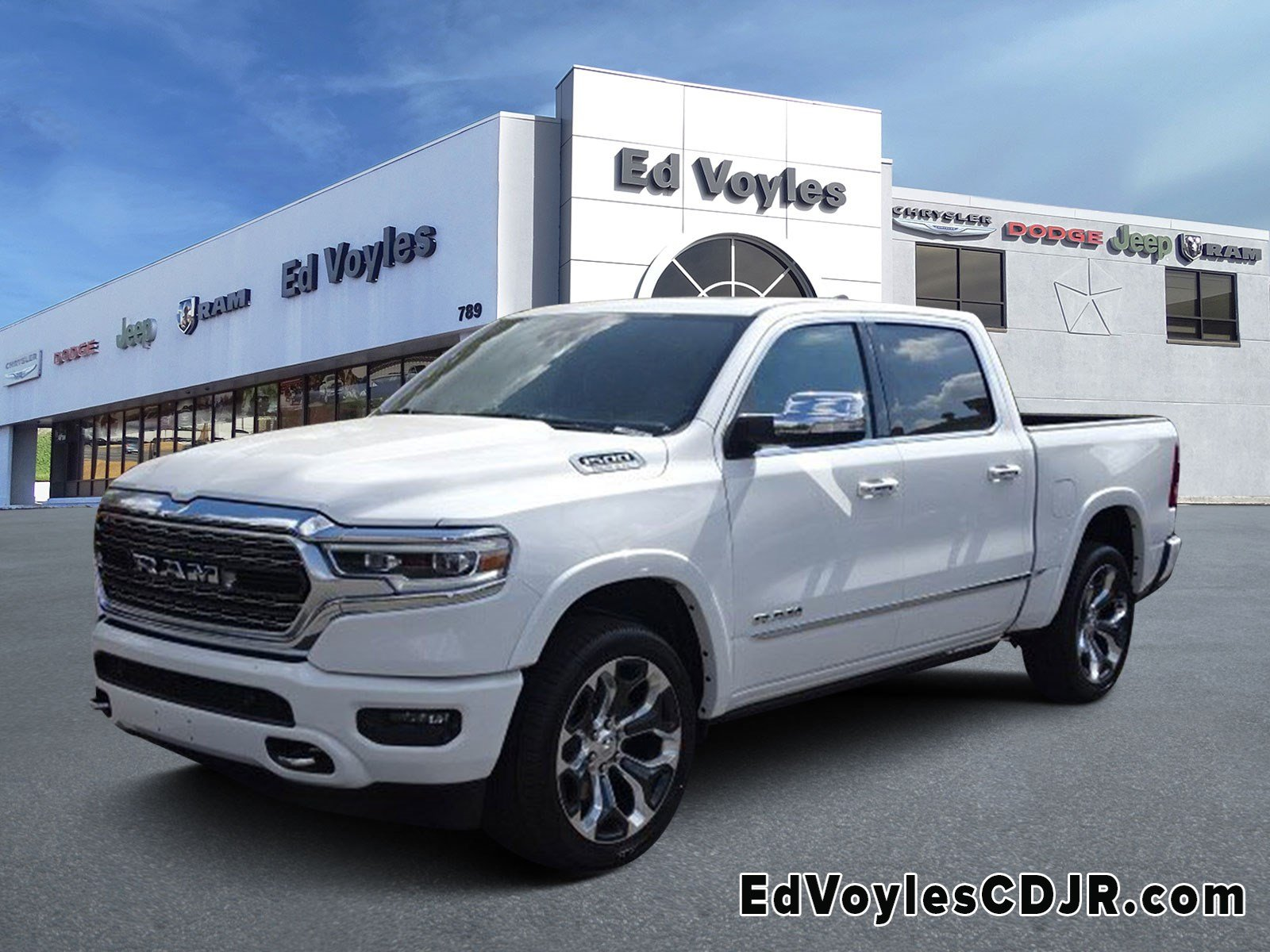 New 2020 Ram 1500 Limited Crew Cab In Marietta 599819 Ed Voyles