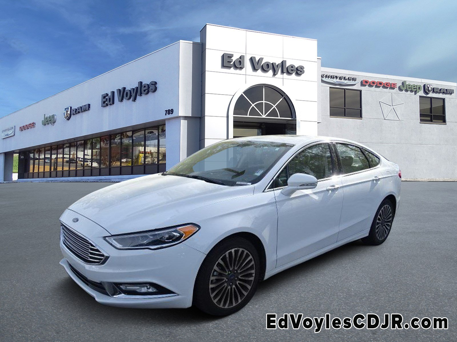 Pre Owned 2018 Ford Fusion Anium