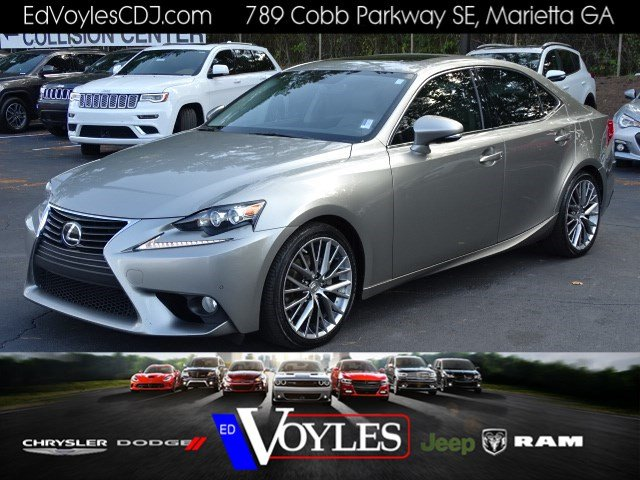 Pre Owned 2014 Lexus Is 250 4dr Car In Marietta 594781a Ed Voyles