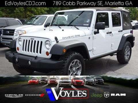 Certified Pre-Owned 2013 Jeep Wrangler Unlimited Rubicon