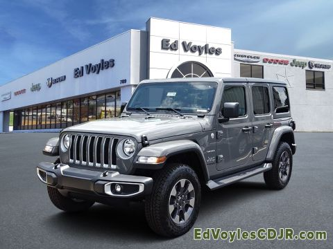 New 2019 JEEP Wrangler Unlimited Sahara