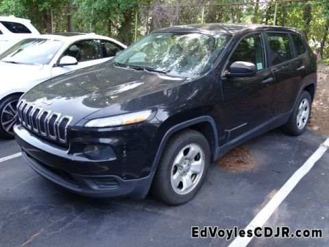 Pre-Owned 2014 Jeep Cherokee Sport